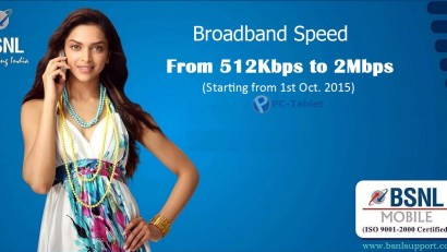 BSNL broadband speed