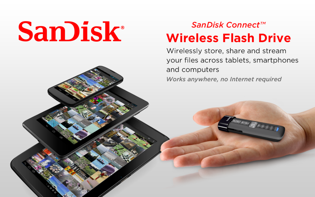 SanDisk Introduces Wireless Pen Drive