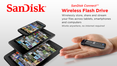 Sandisk Wireless USB