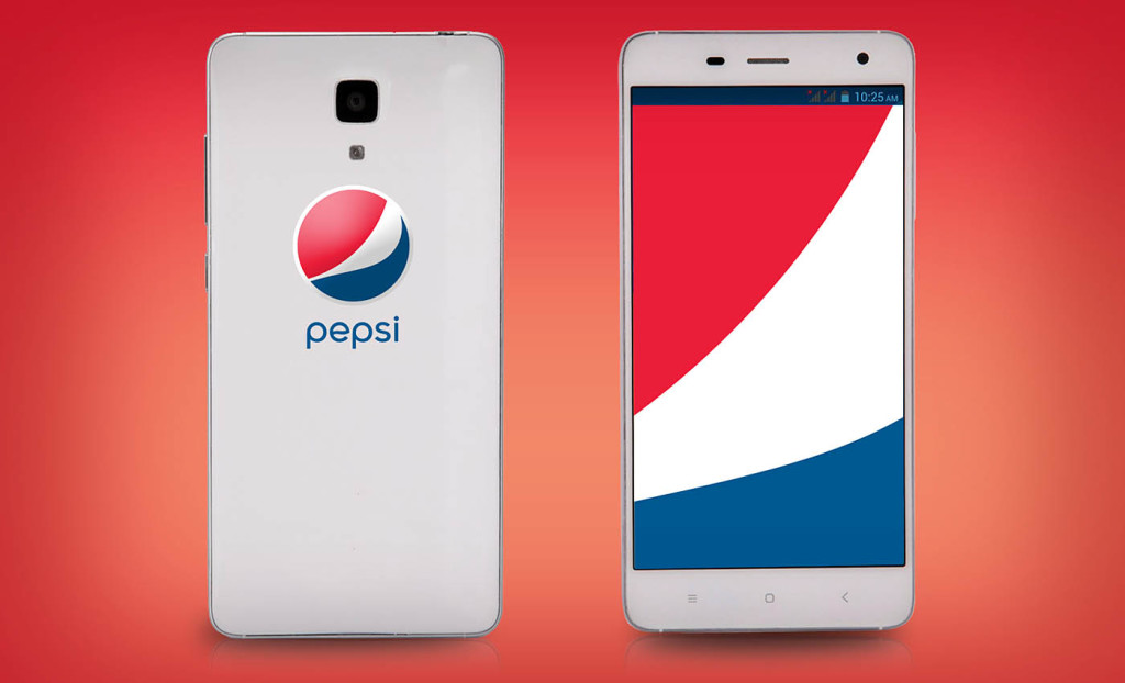 Now Pepsi is launching an Android phone